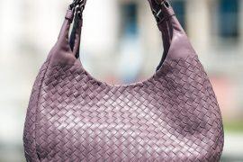 Exclusive: Bottega Veneta Lilac Campana