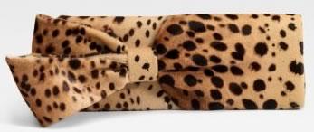 Christian Louboutin Leopard Print Clutch
