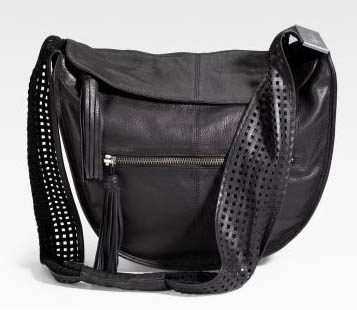 Foley and Corinna Perforated Crossbody Bag
