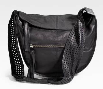 Foley and Corinna Perforated Crossbody Bag