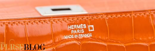 Hermes Alligator