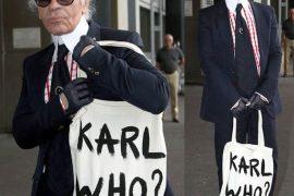 Karl Lagerfeld: Karl Who? Bag