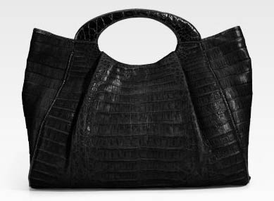 Nancy Gonzalez Large Crocodile Tote