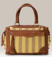 Rebecca Minkoff Mini MAB Stripped Linen Bag