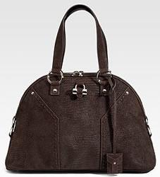 Yves Saint Laurent Suede Muse Bag