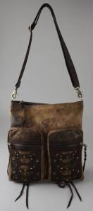 Kettle Black Distressed Bag