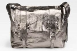 Stephanie Verdino Mini Leather Messenger Bag