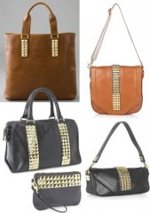 Tory Burch Studded Handbags
