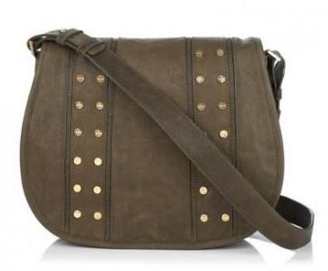 Tory Burch Studded Messenger Bag