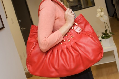 LaLucca Bea Bag (Signature 2009 Collection), $600