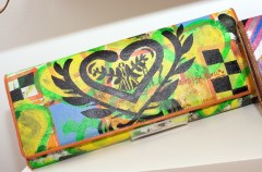 LaLucca Art Collection Clutch