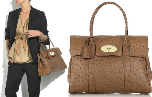 Mulberry Ostrich Bayswater