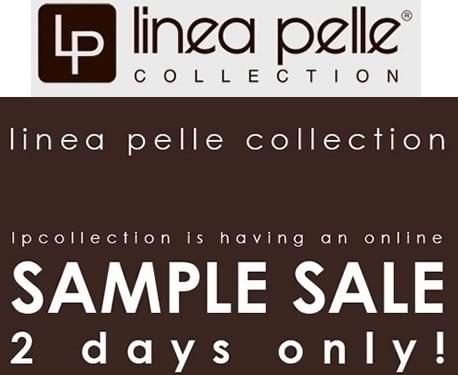 Linea Pelle Sample Sale
