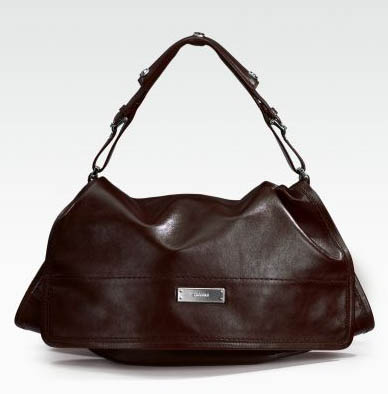 Michele Collins Flap Leather Shoulder Bag