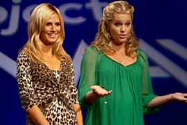 """Project Runway: """"It looks like she's in her early second semester…err, trimester."""""""