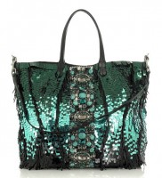 Valentino Paillette Embellished Tote