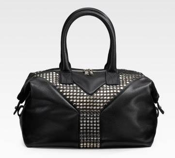 Yves Saint Laurent Studded Satchel