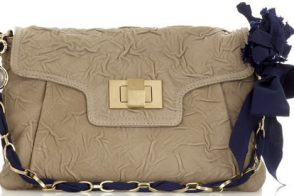 Lanvin Wrinkled Shoulder Bag