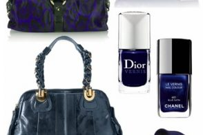 Trendspotted: Deep Blue Handbags