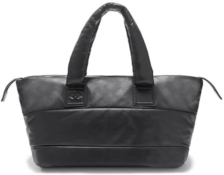 Chanel Quilted Lambskin Medium Zipped Tote