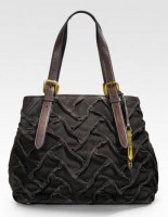 Cole Haan Sloan Woven Suede Tote