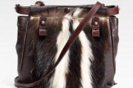 Fendi Skunk Fur Peekaboo Bag