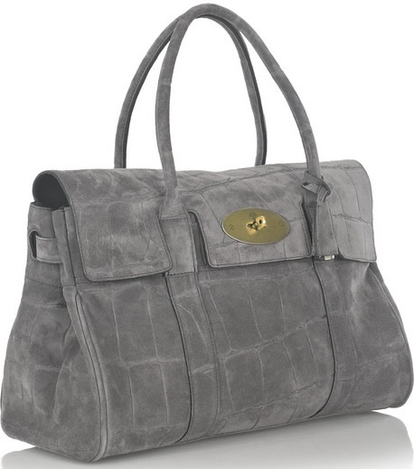 Mulberry Suede Bayswater