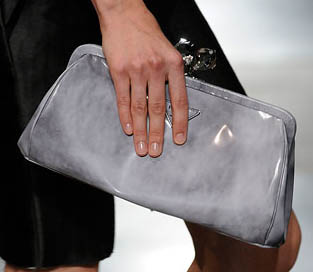 prada hand bag - Fashion Week Spring 2010: Prada Handbags - PurseBlog