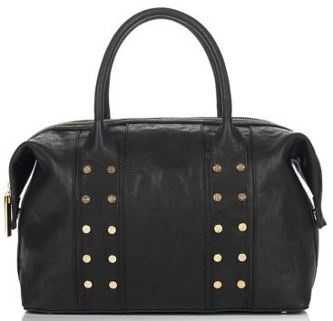 Tory Burch Military Studded Leather Satchel