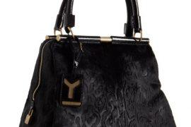 Yves Saint Laurent Calf Hair Majorelle Bag