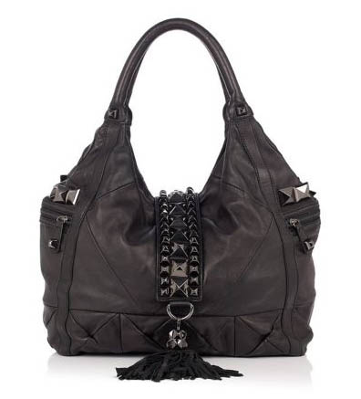 Betsey Johnson Whips & Studs Tote