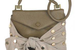 Chloe Polka Dots Leather Bag