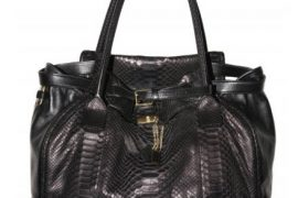 Chloe Python Marlow Bag