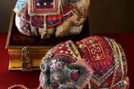 Judith Leiber Camel & Elephant Minaudieres