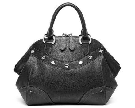 MCM Alda Small Boston Satchel