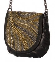 Rafe Agyness Chain-Embroidered Crossbody