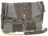 Steven by Steve Madden Snake Charmer Zip Messenger Bag