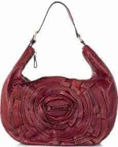 Valentino Petal Leather Hobo Bag1