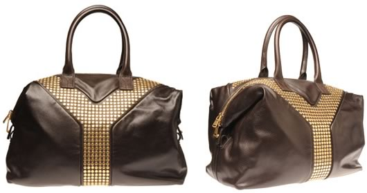 Yves Saint Laurent Tote with Studs