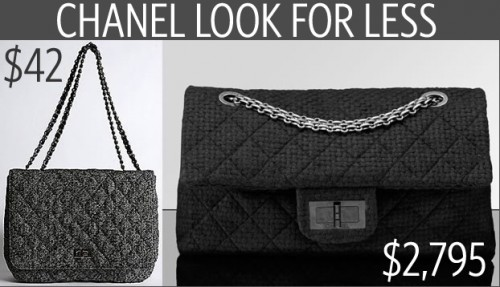Chanel Look for Less
