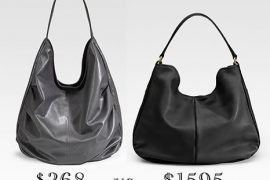 Look for Less: Leather Hobo