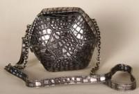 Botkier Orion Snake Embossed Small Shoulder Bag