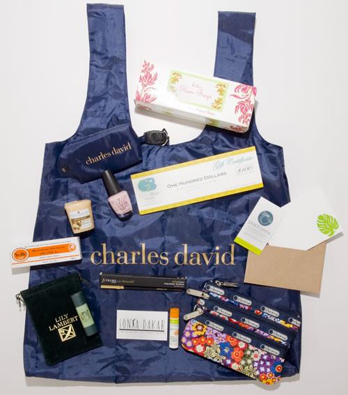Charles David Gift Bag