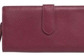 Cole Haan Village Leather Zip Wallet