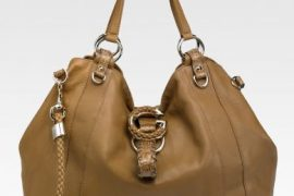 Gucci G Wave Large Leather Tote