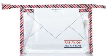 Kate Spade Par Avion Airline Cosmetic Case