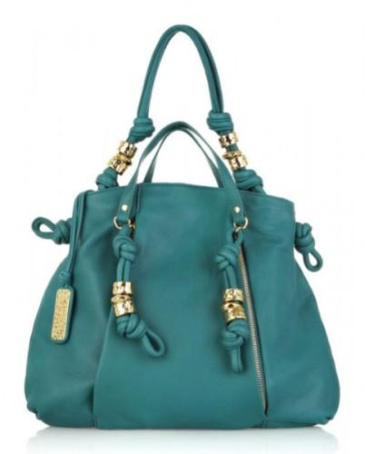 Michael Kors Roslyn Leather Shoulder Bag