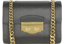 Yves Saint Laurent Small Satin Chain-Strap Bag