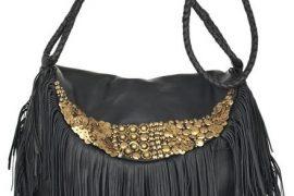 Antik Batik Bongo Fringed Leather Bag