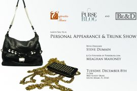 Be&D Trunk Show in Miami